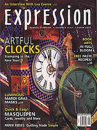 Front cover of expression magazine